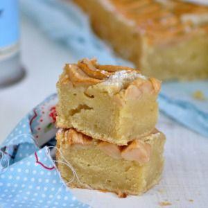 Pastel de manzana y sirope de arce (bizcocho de manzana y maple syrup)