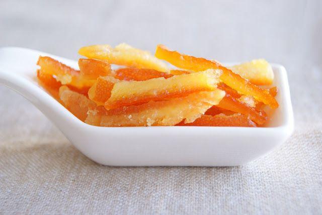Cocinerando: Cáscara de Naranja Confitada