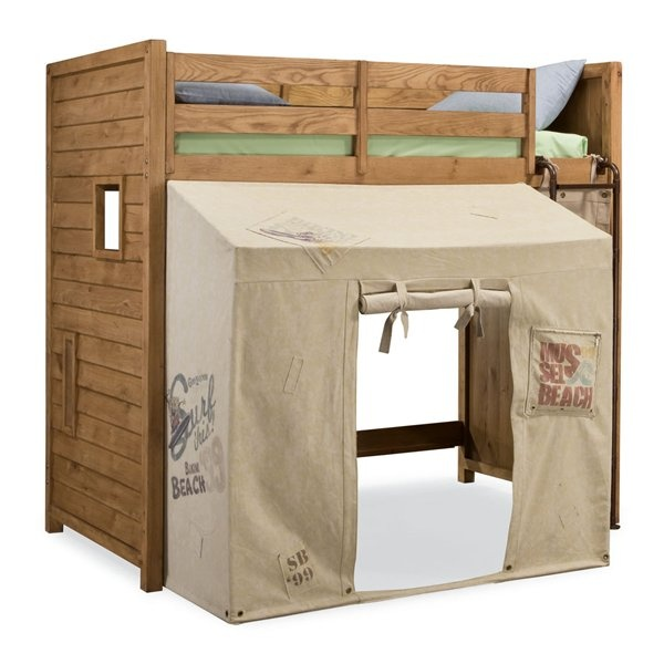 nickelodeon rooms by lea spongebob surf club loftbunk bedroom set with tent home - Spongebob Bedroom Set