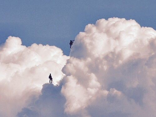 grafika clouds, sky, and blue