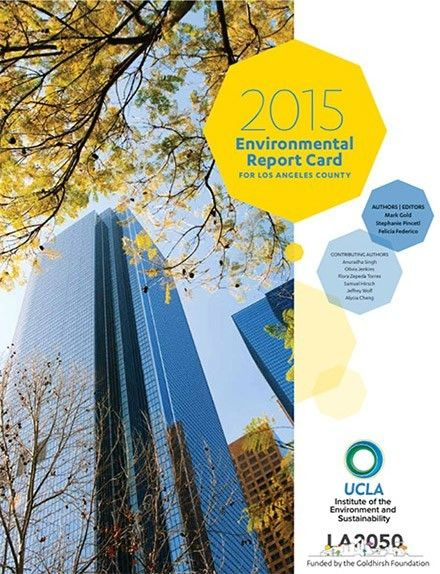 2015 Environmental Report Card for Los Angeles County
