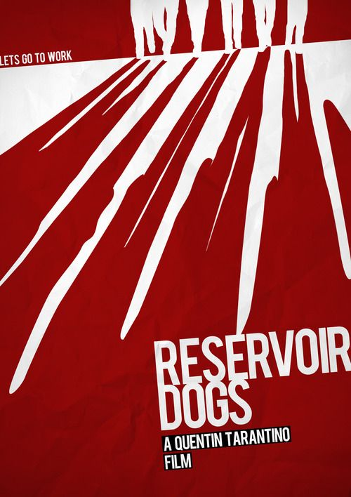 Reservoir Dogs #movie #poster