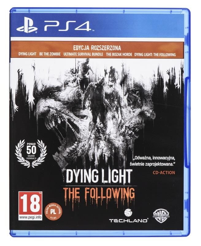 GRA PS4 DYING LIGHT ENHANCED EDITION PL