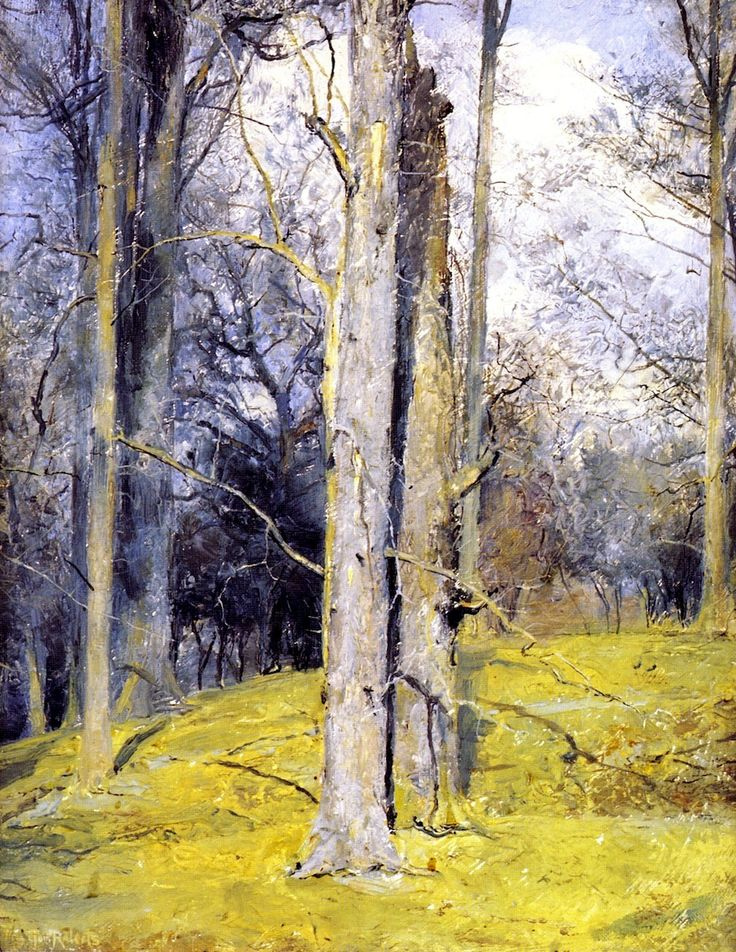 Tom Roberts- Winter, England (c.1920)