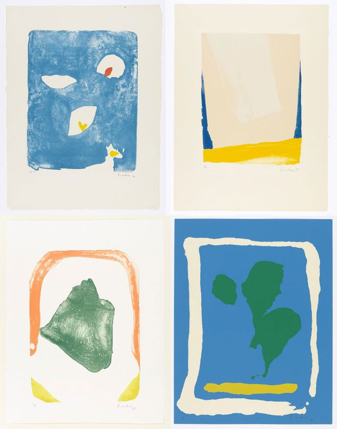 Helen Frankenthaler Lithographs at MOM