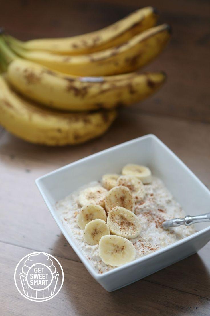 Bircher Muesli with bananas Disney copycat