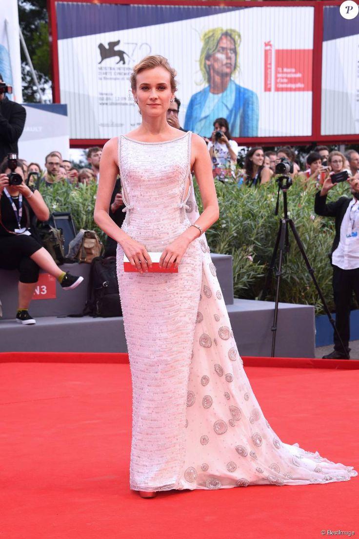 """Diane Kruger - Avant-première du film """"Everest"""" lors de l'ouverture du 72e festival du film de Venise (la Mostra) le 2 septembre 2015"""