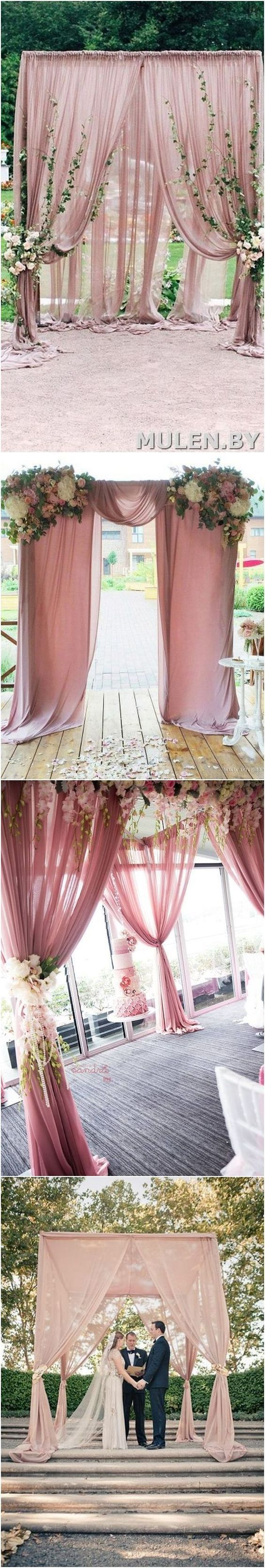 Dusty rose outside rustic wedding color ideas. Rustic outdoor wedding idea is more and more popular recently, if you want to make your wedding special, please feel free to get some inspiration from the gallery.
