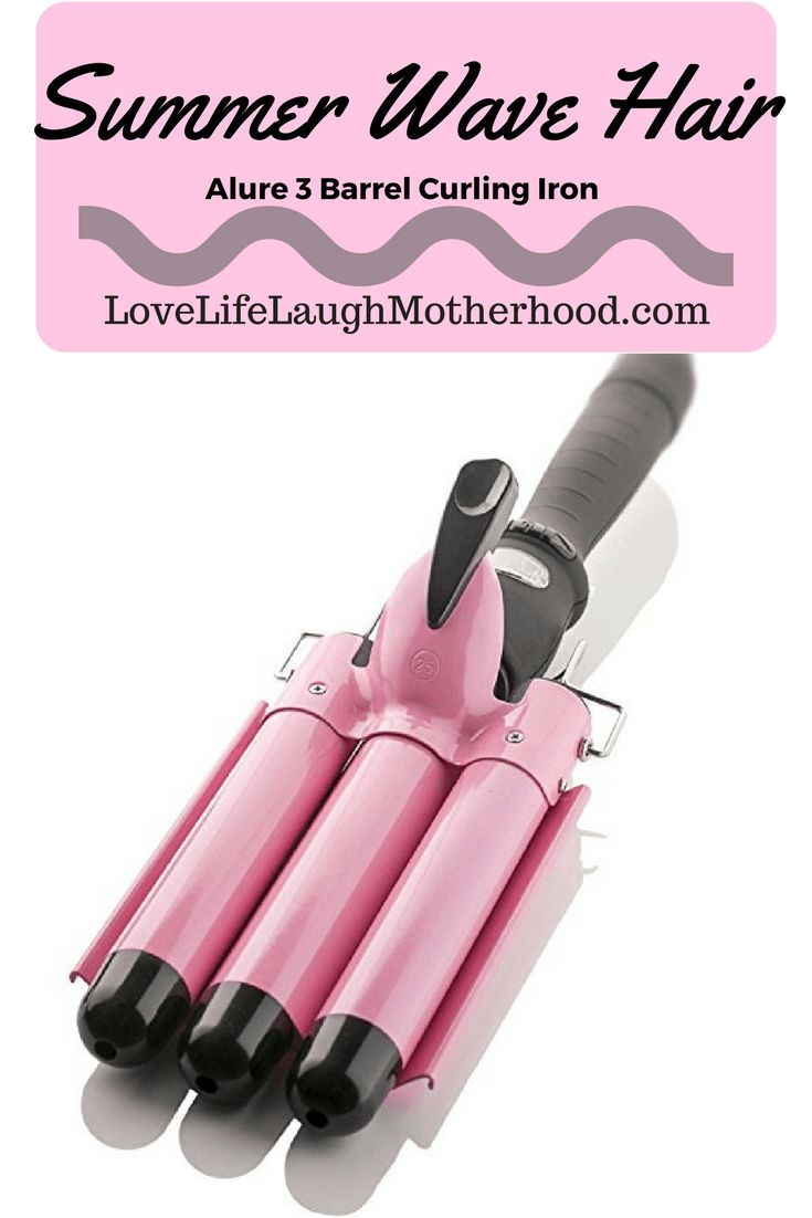 Summer Wave Hair with the Alure 3 barrel curling iron