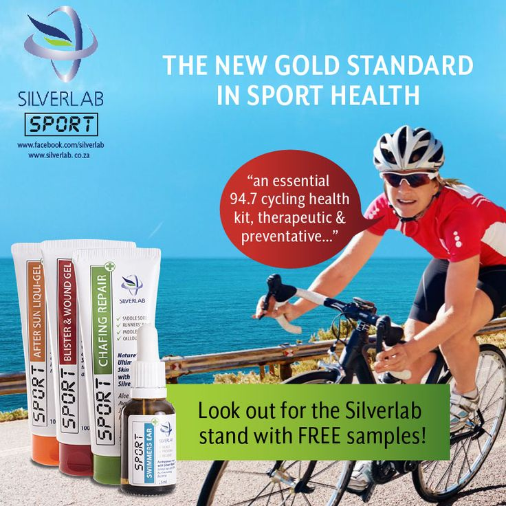 Got your sport first aid kit for this year's race? Look out for our Silverlab Stand on the day of the race! #CC2017 #CCMTB2017 #CCKiddies@947Cycle For more information on the full Silverlab range, visit www.silverlab.co.za Available without the prescription at: www.takelot.com www.wellnesswarehouse.co.za www.dischem.co.za and leading pharmacies and health shops.