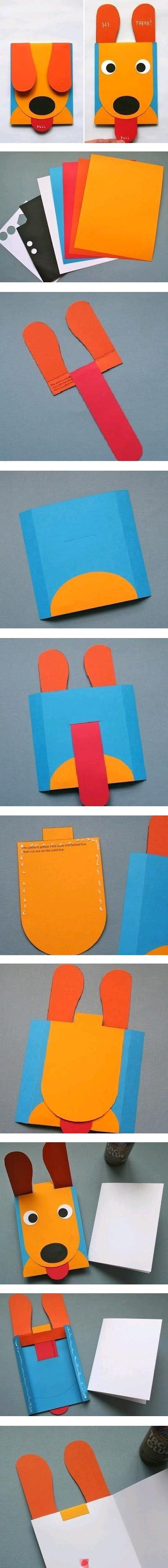 @Denise H. H. Greppo I bet Luke would love this. hint. interactive puppy card.: