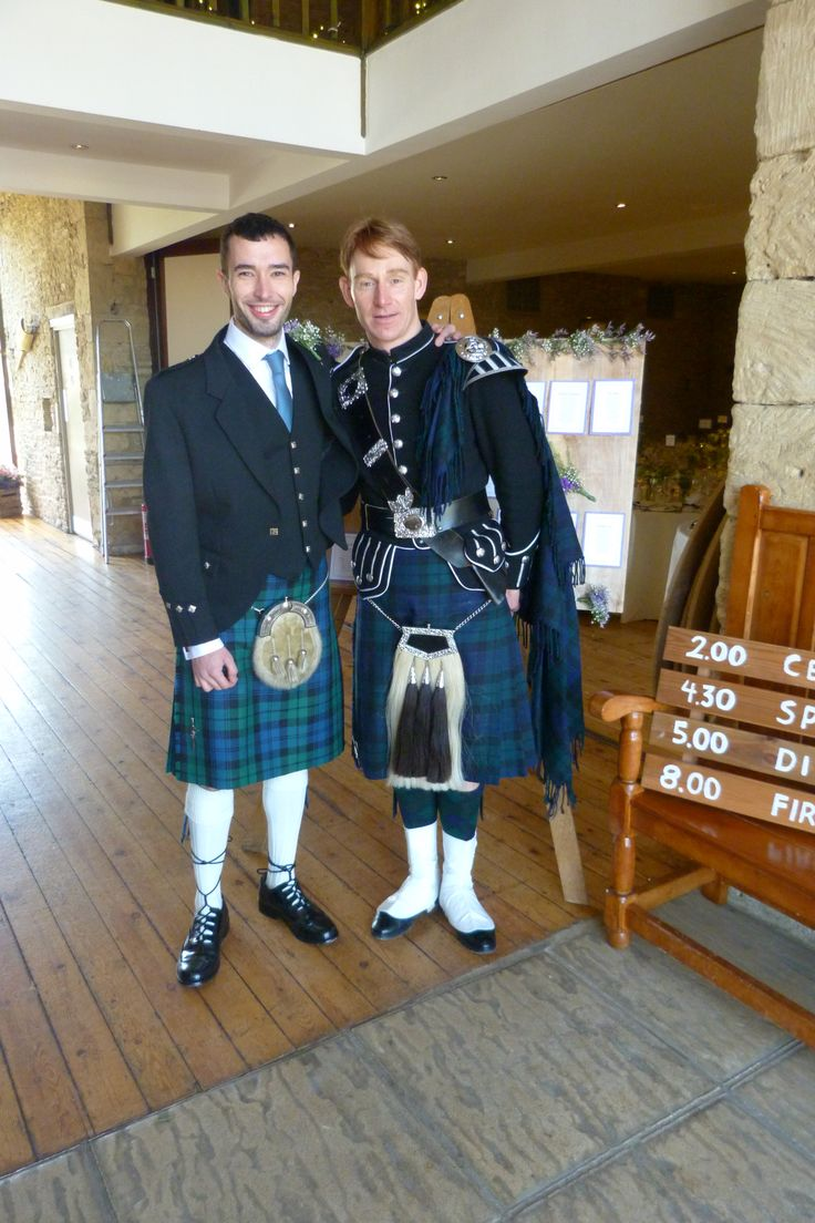 our recent groom James with his Scottish Piper