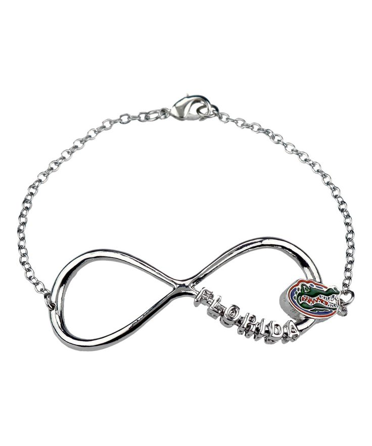 Look at this Florida Gators Infinity Bracelet on #zulily today!