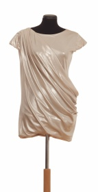 shiny dress from hungarian brand AnnaEva