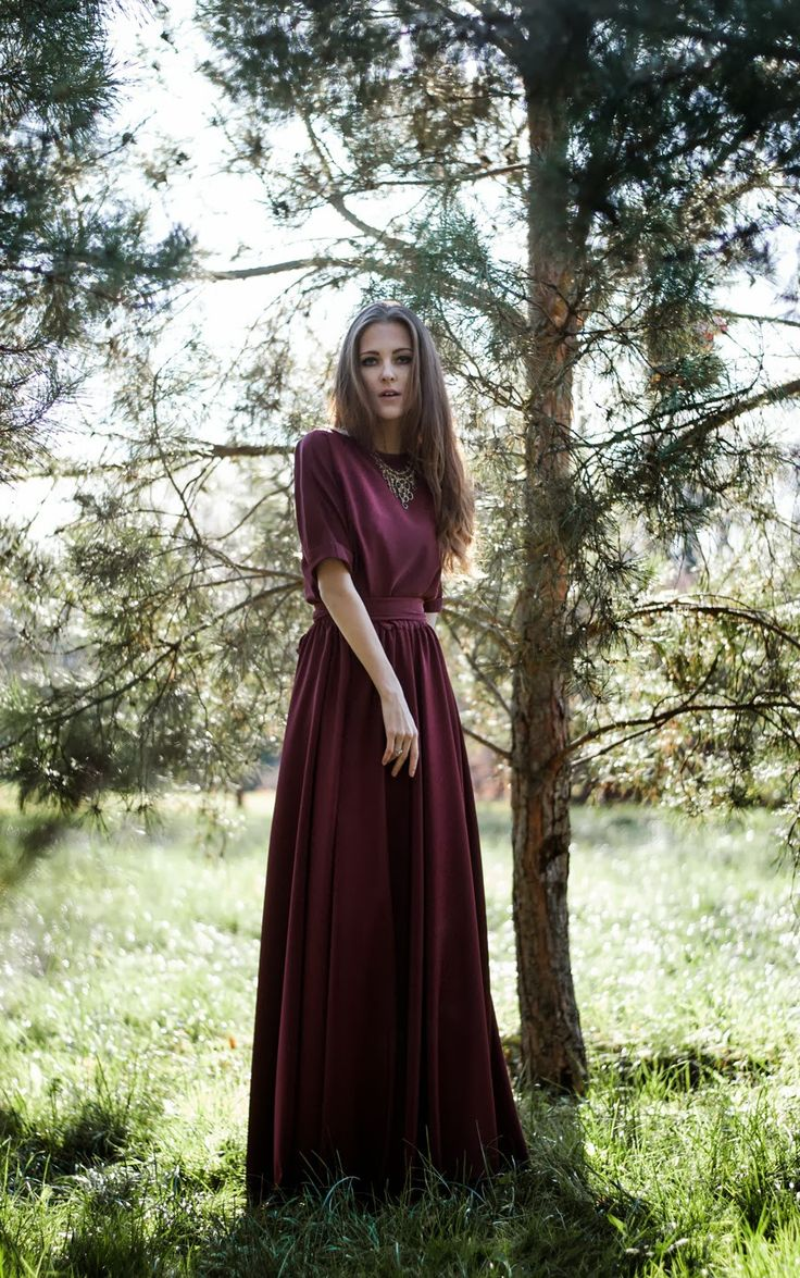 Long dress length types
