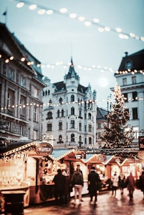 europe during the holidays