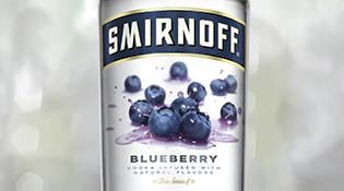 Smirnoff Blueberry is one of the smoothest Smirnoff flavors. Its fresh taste and delightful fragrance dazzle even the most sophisticated party guests.