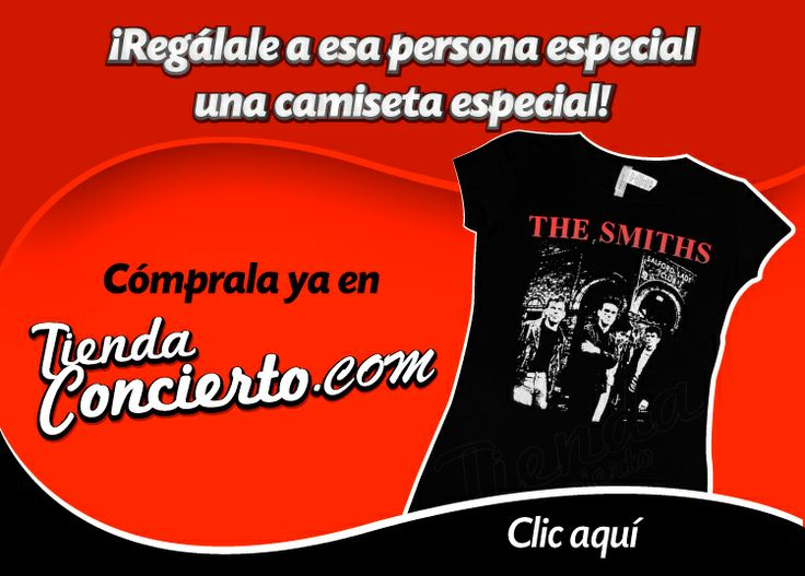 Camisetas THE SMITHS