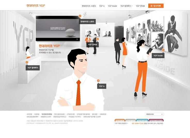 DCafeIn Website - Hyundai Life YGP