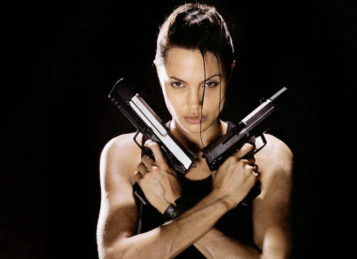 Angelina Jolie. Lara Croft