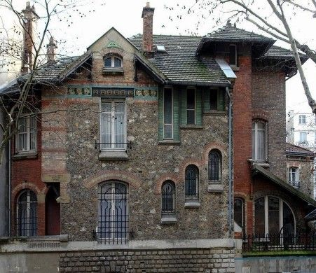 H tel jassed 1893 41 rue chardon lagache paris 75016 - Art nouveau architecture de barcelone revisitee ...