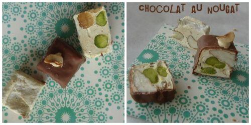 chocolat au nougat. cuisineaubeurresalé