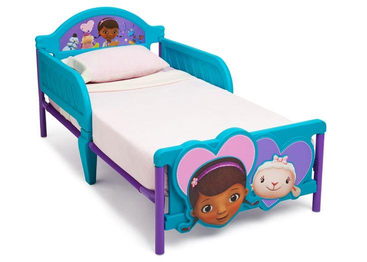 Doc McStuffins Plastic 3D Toddler Bed