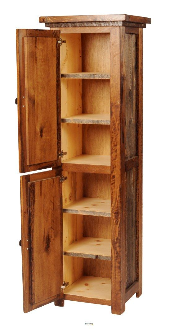 Store Your Linens Or Pantry Items With This Rustic And Refurbished Log Cabin Style Cabinet By Cabin Furniturefurniture Decorlinen