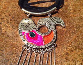 Tibetan jewelry ' handmade fish Pendant