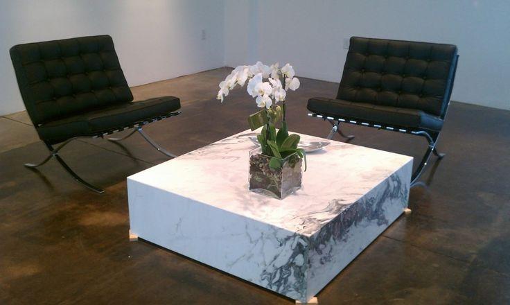 Mesa de centro marmol statuarietto mesas de centro de for Mesa centro marmol