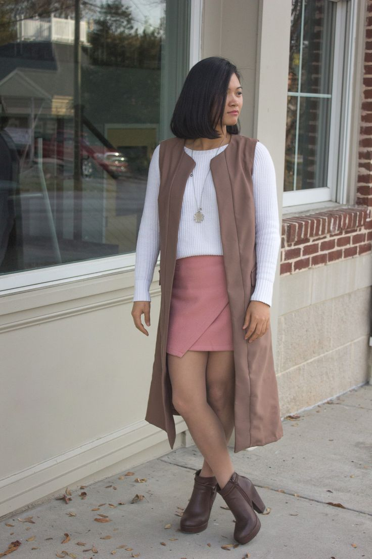 DIY Duster Vest with Simplicity 8177 #diyclothes #diyproject #sewingbee #styleguide
