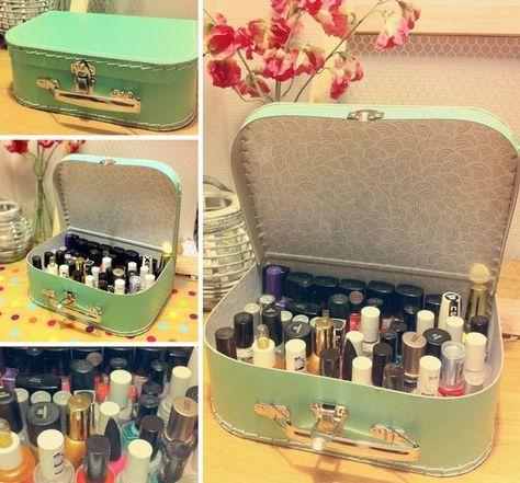 18 Fantastic Ways to Store Nail Polishes