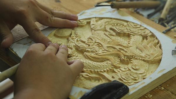 Донгянг - китайское искусство резьбы по дереву