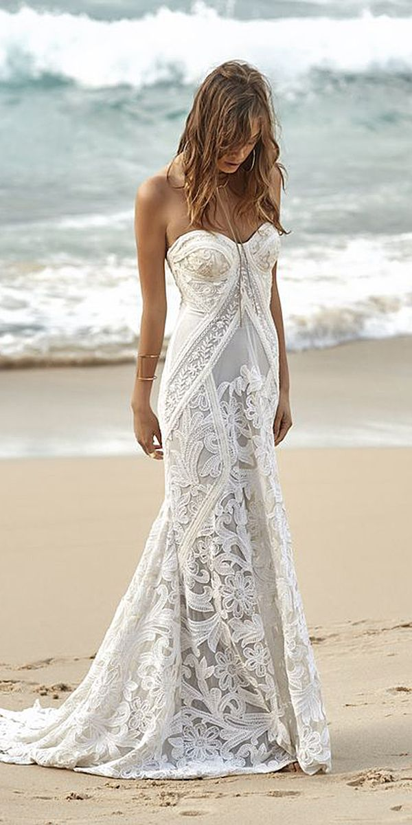 Looking For Beautiful Wedding Dress Check Out These Inspiration Beach Bohemian Long Sleeve