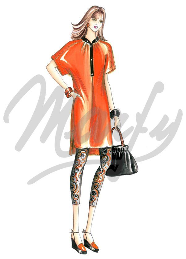 The Marfy hand made pre-cut sewing pattern :: Marfy Collection 2016/2017 :: Schnittmuster nähen 3908 -