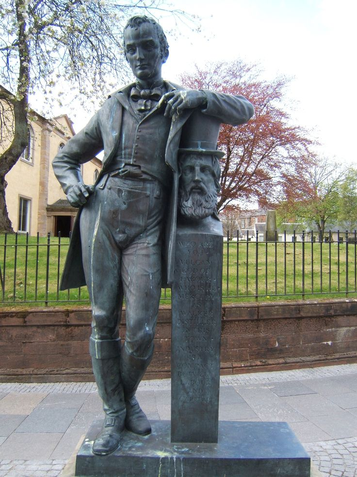 On July 25th 1805 John Walker was born in Kilmarnock, nowadays remembered as Johnnie Walker, he went on to found the Johnnie Walker whisky distillery empire. When his father Alexander died in 1820,...