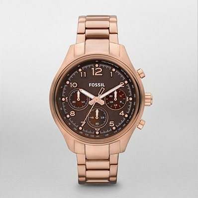 We Now Carry Fossil Watches & Handbags - Rose Gold is very trendy right now - come check out our rose gold watches @Lynda Kraft Atherton Accents #shopyeg #livebeautifully