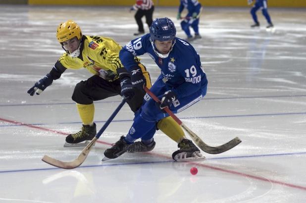 Bandy -- A lot like ice hockey, but not exactly like it!