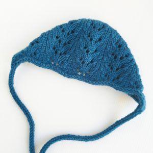 Lace Knit Bonnet
