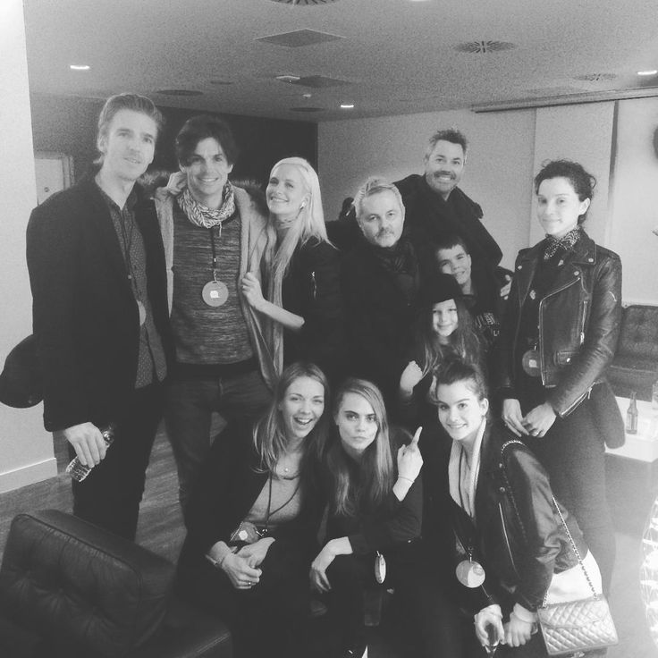 March 2016, Adele concert With Annie's family member and some of Cara's family members and friends.