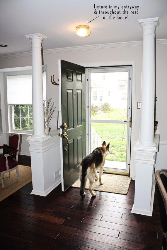 1000 Ideas About Interior Columns On Pinterest Wood
