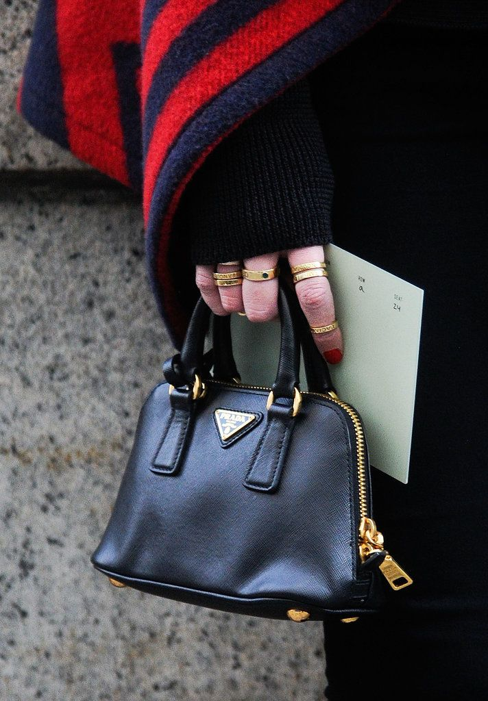 Accessory Stalking at NYFW: Just like the outfits, the shoes and bags are on point at New York Fashion Week.