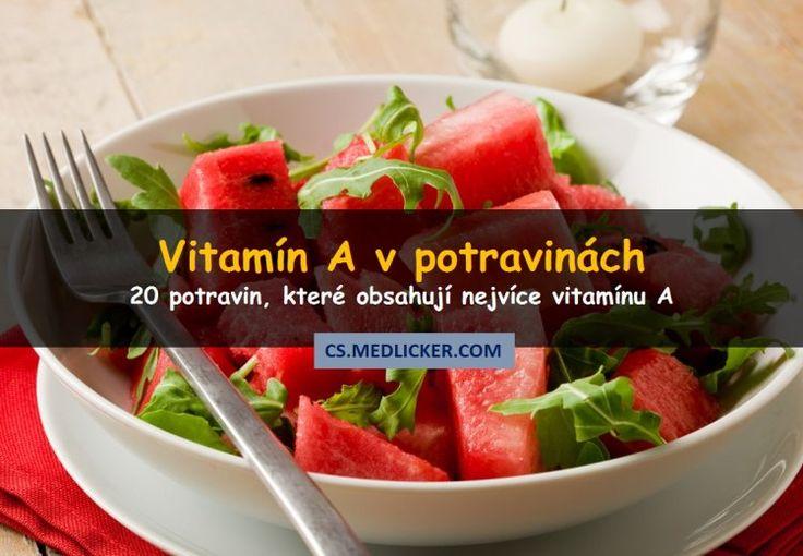 20 potravin bohatých na vitamín A https://cs.medlicker.com/1274-potraviny-s-vitaminem-a