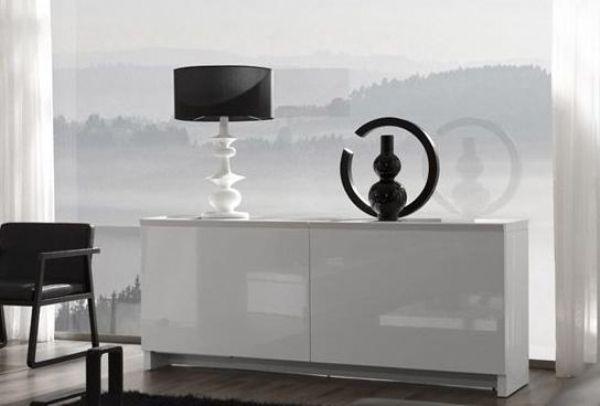 Aparador puertas coplanare 29 aparador lacado blanco for Presotto industrie mobili spa