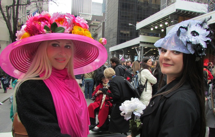 Neon, Tanna Valentine - Easter Parade New York City #neonnewyork #tannavalentine #easterparade #newyorkcity #manhattan #fifthavenue #easterbonnet #easter