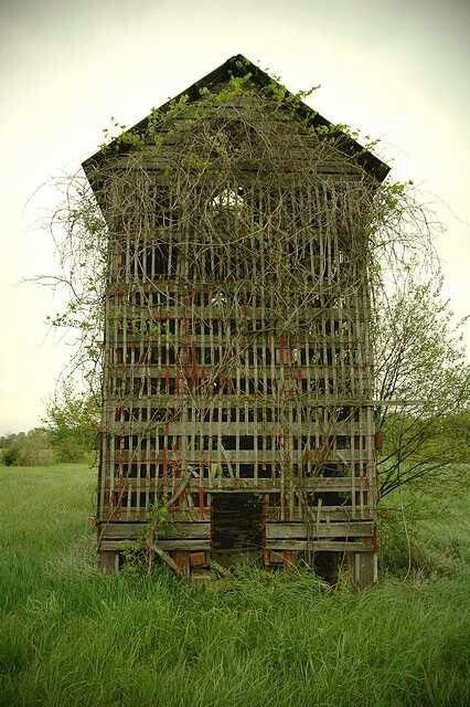 Old Wooden Corn Crib, Ever Played Hide And Seek In One? Amazing Ideas