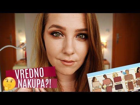 VREDNO NAKUPA? The Balm Nude Beach Palette + NAGRADNA IGRA I Lana Spital Makeup - YouTube