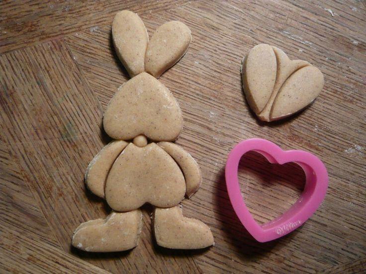 Heart Bunny Cookie