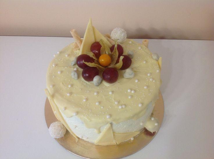 Fehércsoki moussse torta