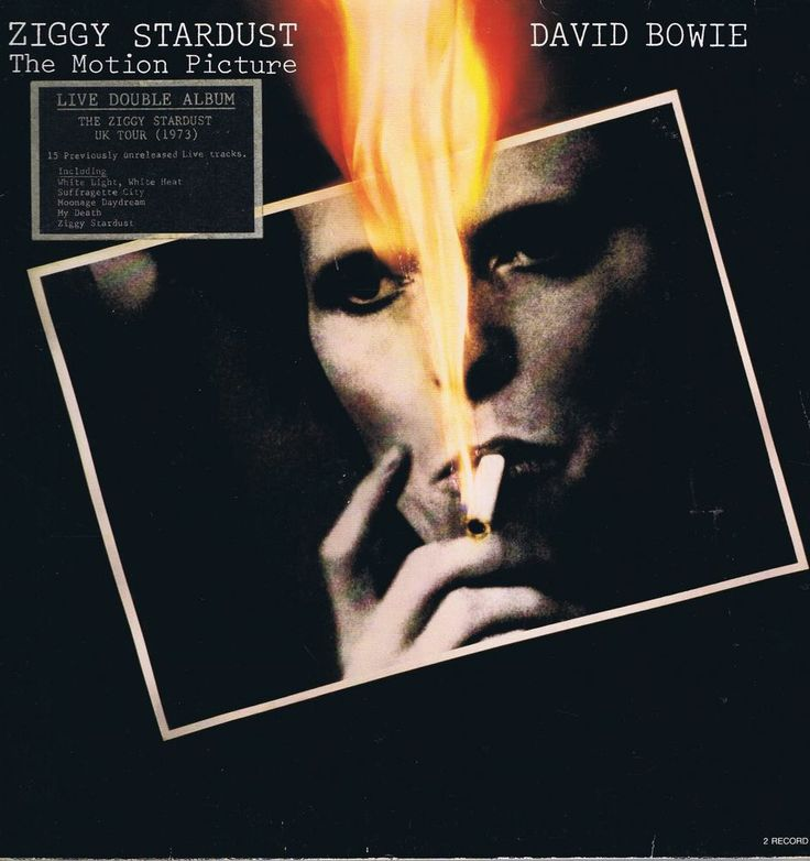 David Bowie – Ziggy Stardust – The Motion Picture – 2-LP Vinyl Record